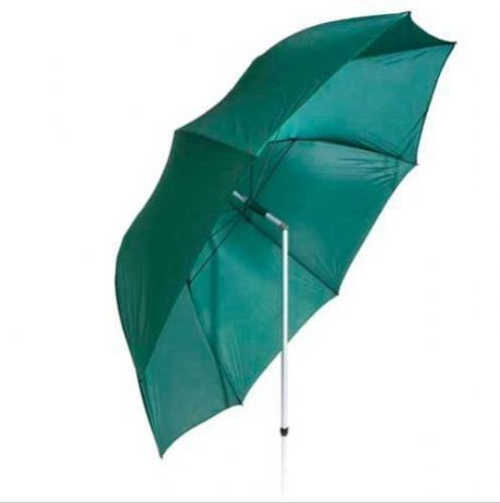 "45"" Green CARP Fishing Umbrella With TILT Ground Spike Fishing Shelter Brolly"
